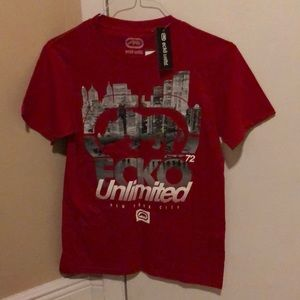 Ecko unlimited red shirt size:S